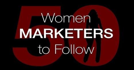 50 Women Marketers to Follow | Search Engine Journal | Search, Email, Webinar Marketing | Scoop.it