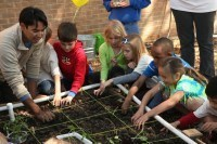 A Teaching Garden Levels The Playing Field | school gardens | Scoop.it