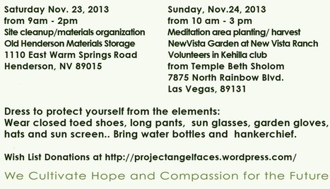 National Family Volunteer Days with Project AngelFaces Nov 23rd, 24th | FoodHub Las Vegas | Scoop.it
