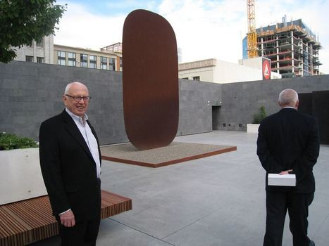 Elsworth Kelly: Stele I | Art Installations, Sculpture, Contemporary Art | Scoop.it