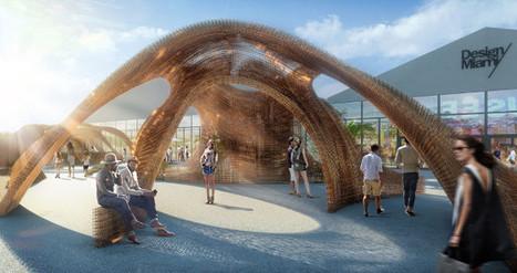 Un pavillon imprimé en 3D à Miami à partir de bambou - 3Dnatives | Univers cellule agile robotisée | Scoop.it