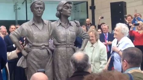 Sheffield's wartime 'Women of Steel' statue unveiled   Fabulous Feminism   Scoop.it