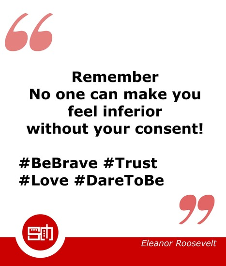 SMART METRIX L'inspiration du jour ...#BeBrave #SelfConfidence  #Trust #Love #DareToBe | Le coaching professionnel par Soizic Merdrignac | Scoop.it