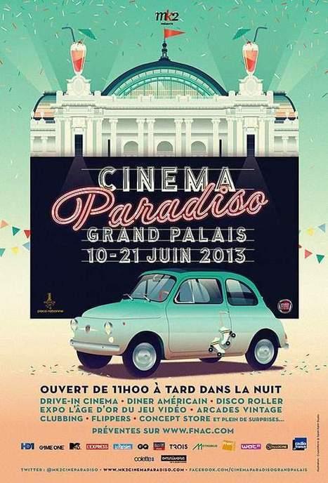 Drive-in sous la nef du Grand Palais à Paris - Les Échos | Actu Cinéma | Scoop.it