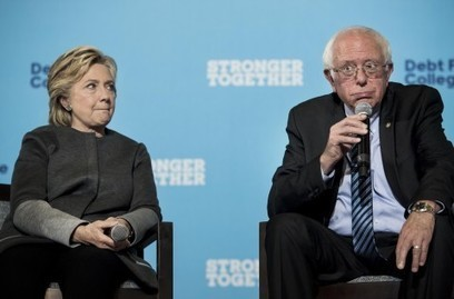 Sanders is prepared to be a liberal thorn in Clinton's side | AUSTERITY & OPPRESSION SUPPORTERS  VS THE PROGRESSION Of The REST OF US | Scoop.it