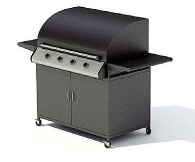 Barbecue à gaz en 3D   3D Library   Scoop.it