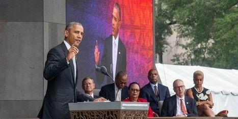 27/09/2016 - Barack Obama, président noir, inaugure le musée national afro-américain - Article | infos-web | Scoop.it