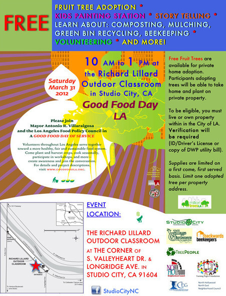 FREE Family-Friendly Event in Studio City! Join Us for Good Food Day LA | Vertical Farm - Food Factory | Scoop.it