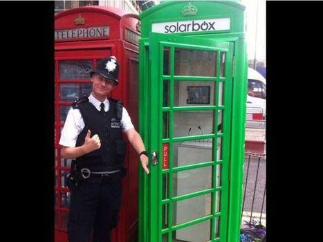 La cabine téléphonique anglaise à l'heure du développement durable | Plusieurs idées pour la gestion d'une ville comme Namur | Scoop.it
