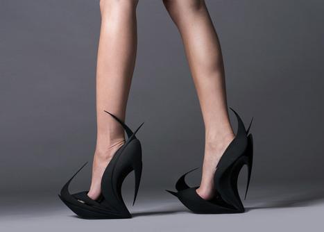 Hadid and Van Berkel create 3D-printed United Nude shoes | [New] Media Art Education & Research | Scoop.it