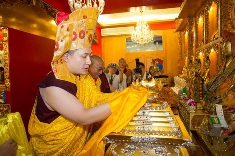 Taiwan visit: Shamarpa's relics enshrined - The 17th Karmapa: Official website of His Holiness Karmapa Thaye Dorje | Cosmic joke | Scoop.it
