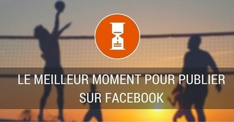 Les meilleurs horaires pour publier sur votre page Facebook | Facebook pour les entreprises | Scoop.it