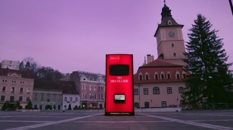 Streetplanneur » Coca-Cola partage du bonheur par la voie des airs | the world of communication | Scoop.it