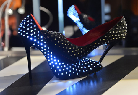 LED Studded Pumps By Cesare Paciotti Kicks Off The Festive Season | scatol8® | Scoop.it