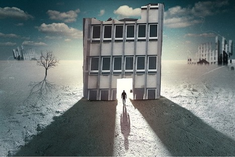 Dramatic Collages Depict People in Imaginary Towns - My Modern Metropolis | Le It e Amo ✪ | Scoop.it