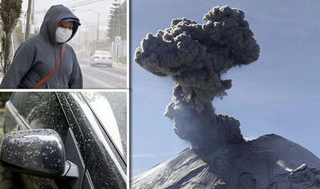 Deadly volcanoes causing panic in city while 10km ash cloud grounds flights | Conformable Contacts | Scoop.it