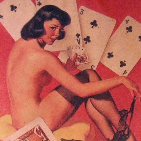 Vintage Gil Elvgren Pin Up Girl 50's FRAMED by Gothabilly13 | Antiques & Vintage Collectibles | Scoop.it