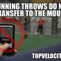 Running Throws Do Not Correlate to the Pitching Mound | Pitching Velocity | Scoop.it