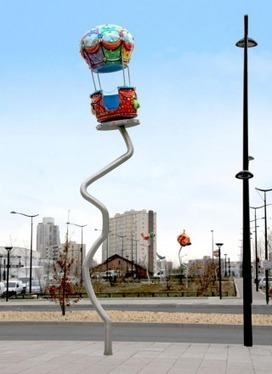 Pierre Ardouvin: You make my head spin | Art Installations, Sculpture, Contemporary Art | Scoop.it