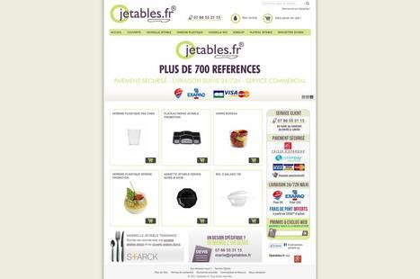 Site Magento pour Ojetables   Vaisselle jetable   Scoop.it