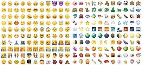 Ne cherchez plus le bon emoji, bientôt un algorithme le fera pour vous   FLE et nouvelles technologies   Scoop.it