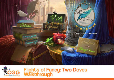 Flights of Fancy: Two Doves Walkthrough: From CasualGameGuides.com | Casual Game Walkthroughs | Scoop.it