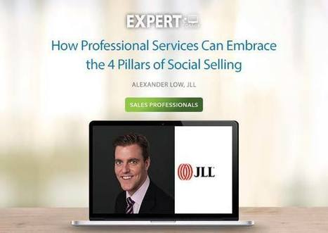 How Professional Services Can Embrace the 4 Pillars of Social Selling | All About LinkedIn | Scoop.it