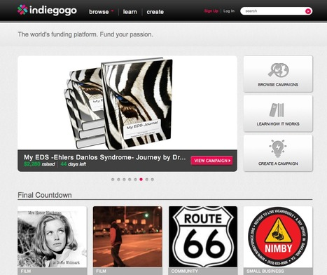 Indiegogo platform | references-site-web | Scoop.it