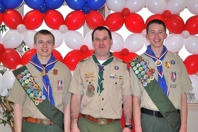 Local Eagle Scouts Share Their Stories of Success - Berkeley ...   Eagle Scout Project   Scoop.it