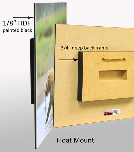 Float Mount in Ottawa Shipping to Toronto, all Canada and USA | Germotte Photo and Framing Studio | Scoop.it