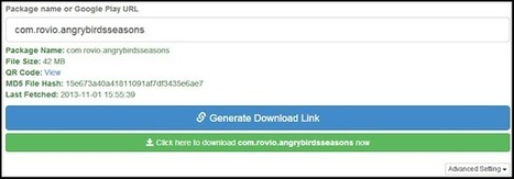 How To Download .APK Files Directly From Google Play Store « Tricks For You   Andriod   Scoop.it