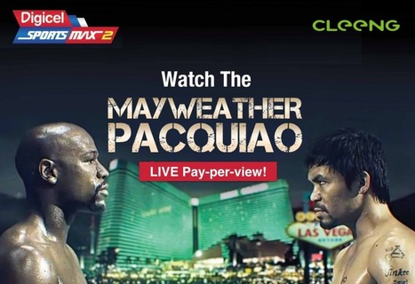 Mayweather vs. Pacquiao as pay-per-view powered by Cleeng & Sportsmax TV! | #OTT delights: news & best practices | Scoop.it