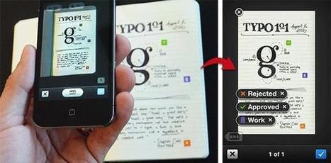 "Evernote & Moleskine Merge Paper & Pixels in ""Smart Notebook"" | scatol8® | Scoop.it"