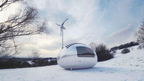 Une micro-maison entièrement autonome   On n'arrête pas le progrès !   Scoop.it
