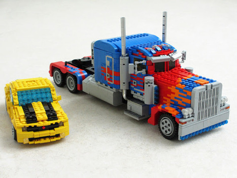 Transformers em LEGO realmente transformáveis | Heron | Scoop.it