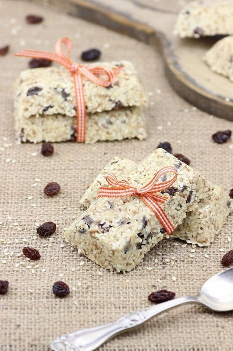 The Rawtarian: Raw sesame seed bar recipe | I love to cook | Scoop.it