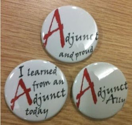 Gr8 #adjunct buttons & #CEW @ Colorado SU | A is for Adjunct | Scoop.it
