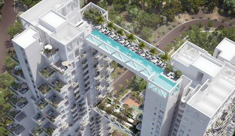 This Swimming Pool Bridge Is Not For The Squeamish (Video) - Gadget Review | Singapore Real Estate And Floor Plans | Scoop.it