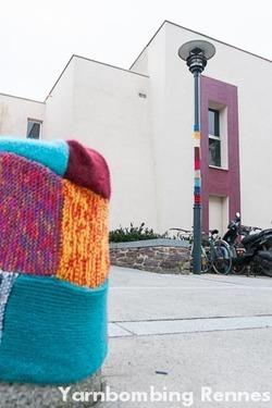 Le tricot urbain - Yarnbombing | Ateliers créativité (AFB) | Scoop.it