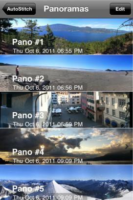 AutoStitch Panorama 5.0 usa realidad aumentada para tomar las fotografías panorámicas | Personal y hobbies | Scoop.it