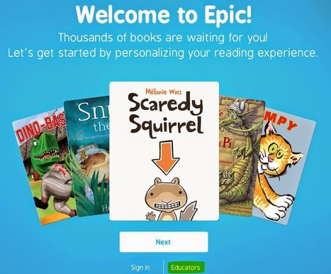 iDevice in the Mountains: Epic! - Thousands of Books for Kids | Drifting with iPads and iPods | Scoop.it