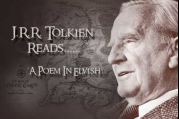 Listen to J.R.R. Tolkien Read Poems from The Fellowship of the Ring, in Elvish and English (1952) | Machinimania | Scoop.it