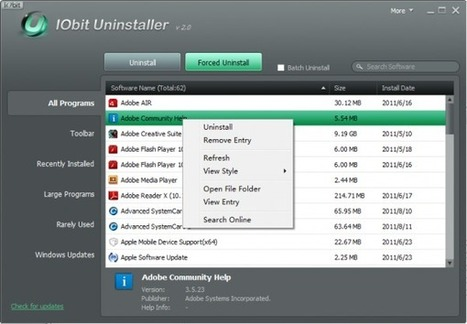 5 Free Uninstallers for Windows 7 | Geeks | Scoop.it