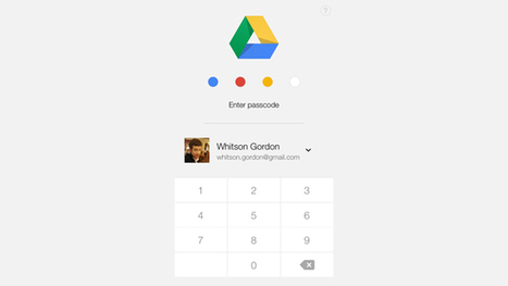 Google Drive Lets You Passcode-Protect Documents on iOS | Mobile (Post-PC) in Higher Education | Scoop.it