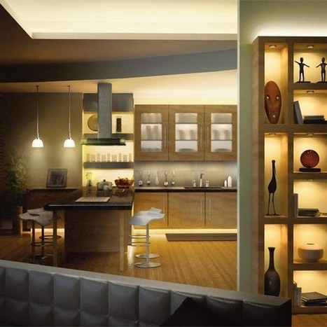 Under Kitchen Cabinet Lighting | Ideas,Designs,Installations | Home Designs an Decorating Ideas | Scoop.it