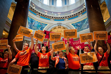 By a 75-59 Vote, the Minnesota House Approves a Same-Sex Marriage Bill - New York Times | Sex Crime Woman Money And Love | Scoop.it