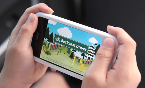 Backseat Driver, Realtime iPhone Driving App For Children by ToyToyota   Transmedia 4 Kids: Creating Content For Children   Scoop.it