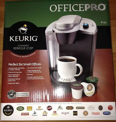 NEW Keurig B145 OfficePro Commercial Coffee Maker Single Cup W/ K-Cups Gourmet | Debbies Favorite Items | Scoop.it