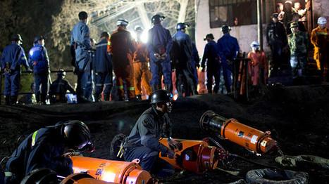 Una explosión en una mina en China deja decenas de personas atrapadas - RT | CTMA | Scoop.it
