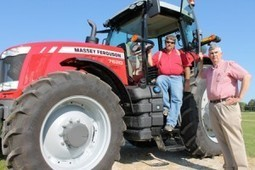 Tractor gives students access to latest technology | CALS News Center | News from the College of Agriculture and Life Sciences | Research from the NC Agricultural Research Service | Scoop.it